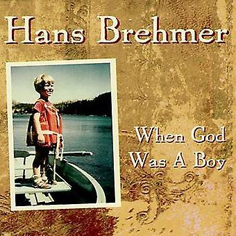 Hans Brehmer - When God Was a Boy [CD] USA import