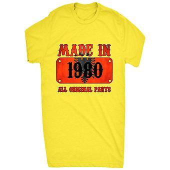 Renomado fez na Albânia em 1980 todas as peças originais