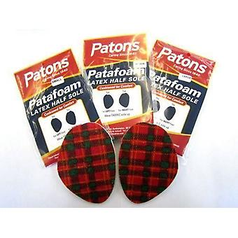 Ladies Patafoam Latex Half Sole from Patons