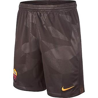 2017-2018 AS Roma Third Nike Football Shorts (Kids)