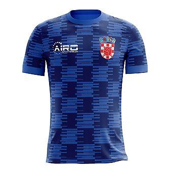 2018-2019 Kroatië weg Concept voetbalshirt