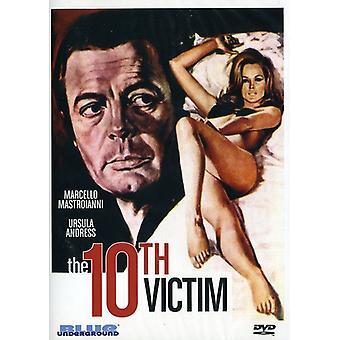 10th Victim (1965) [DVD] USA import