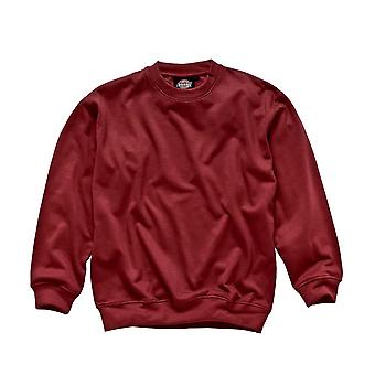 Dickies Mens Workwear Sweatshirt Red SH11125R