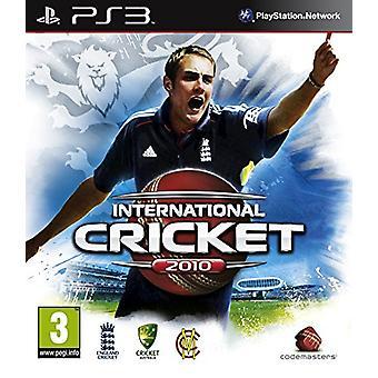 Kansainvälinen kriketti 2010 (PS3) - Uusi