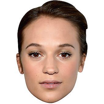 Алисия Викандер маска