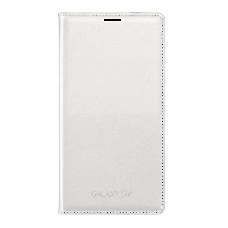 Samsung EF-WG900BWEG Flip Wallet Case for Galaxy S5 in white