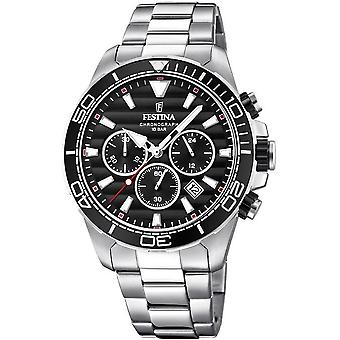 Festina mens watch chronograph F20361-4