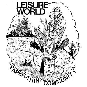 Leisure World - Paper-Thin Community [Vinyl] USA import