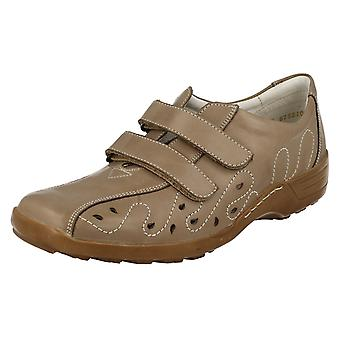 Dames Remonte Extra brede passend platte schoenen D0506