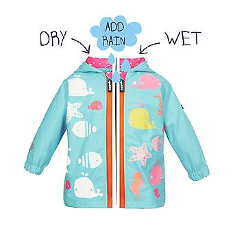 Squidkids Starfish Colour Changing Raincoat