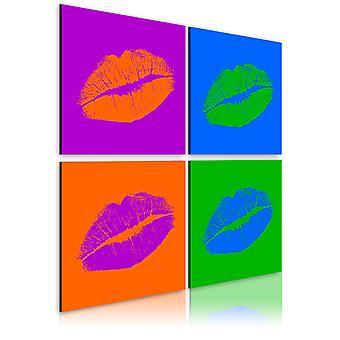 Quadro - Baci: Pop Art