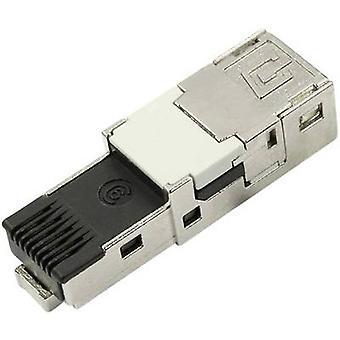STX V 1 RJ45 stekker invoegen cat.6 aansluit, rechte aantal pins: 8P8C J80026A0004 Telegärtner J80026A0004 1 PC('s)