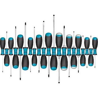 Hazet JumboX Workshop Screwdriver set 21-piece Slot, Phillips, TORX socket
