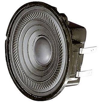 Visaton K 50 WP 2 tommers 5 cm Wideband høyttaler kabinett 2 W 50 Ω