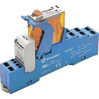 Finder 4C.52.9.024.0050 8A Relay Interface Module 2 changeover contacts. 24 V DC