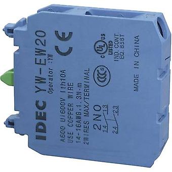 Contact 2 makers momentary 240 V AC Idec YW-EW20 1 pc(s)