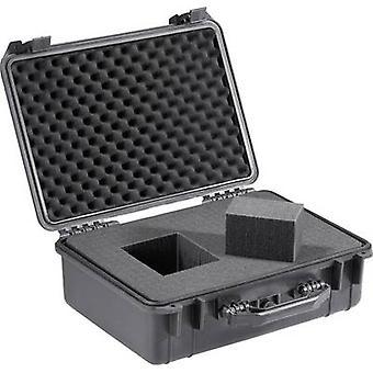 בסיס טק 708503 תיבת הכלי אוניברסלי (ריק) IP67 (L x W x H) 460 x 360 x 175 mm