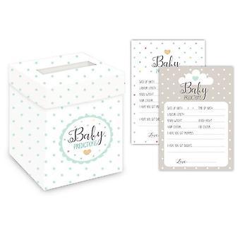 Club Green J009UX Oh Baby Mint forudsigelse kort & postboks