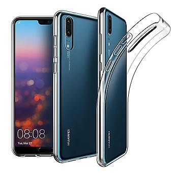 Huawei P20 transparent fodral cover silikon