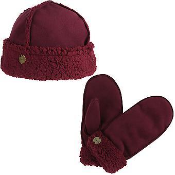 Regatta Womens/Ladies Corbina Winter Knit Walking Hat and Gloves Set