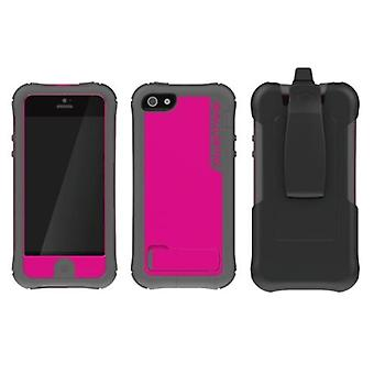 Ballistic Every1 Case for Apple iPhone 5/5s - Raspberry/Gray