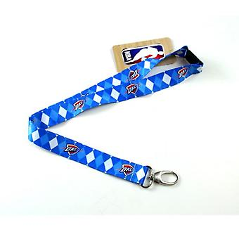 Oklahoma City Thunder NBA Argyle Lanyard