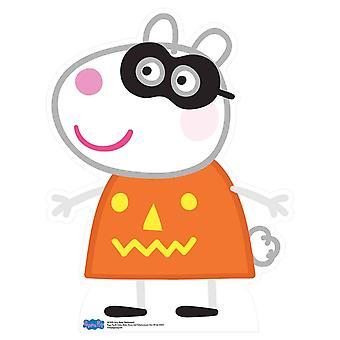 Suzy Schaf von Peppa Pig Halloween Karton Ausschnitt / AC