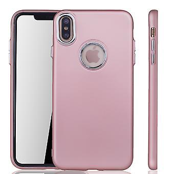 Apple iPhone XS Max - mobiltelefon tilfelle for Eple iPhone XS Max - mobile sak rose rosa
