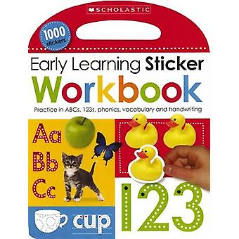 Early Learning Sticker Workbook by Scholastic - 9780545915397 Book