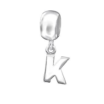 Erste K - 925 Sterling Silber Plain Beads - W12069X