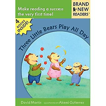 Three Little Bears Play All Day (Brand New Readers)
