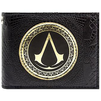 Assassins Creed Syndicate Gold Insignia ID & Card Bi-Fold Wallet