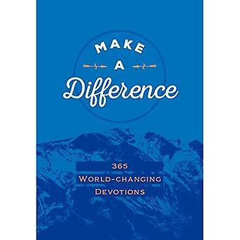 Maak een verschil: 365 wereld-veranderende devoties