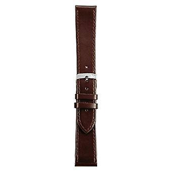 Morellato black leather strap 22 mm Brown SPRINT man A01X2619875032CR10