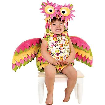 Colorful Owl Toddler Costume