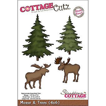 CottageCutz dör-älg & amp; Träd 1,9