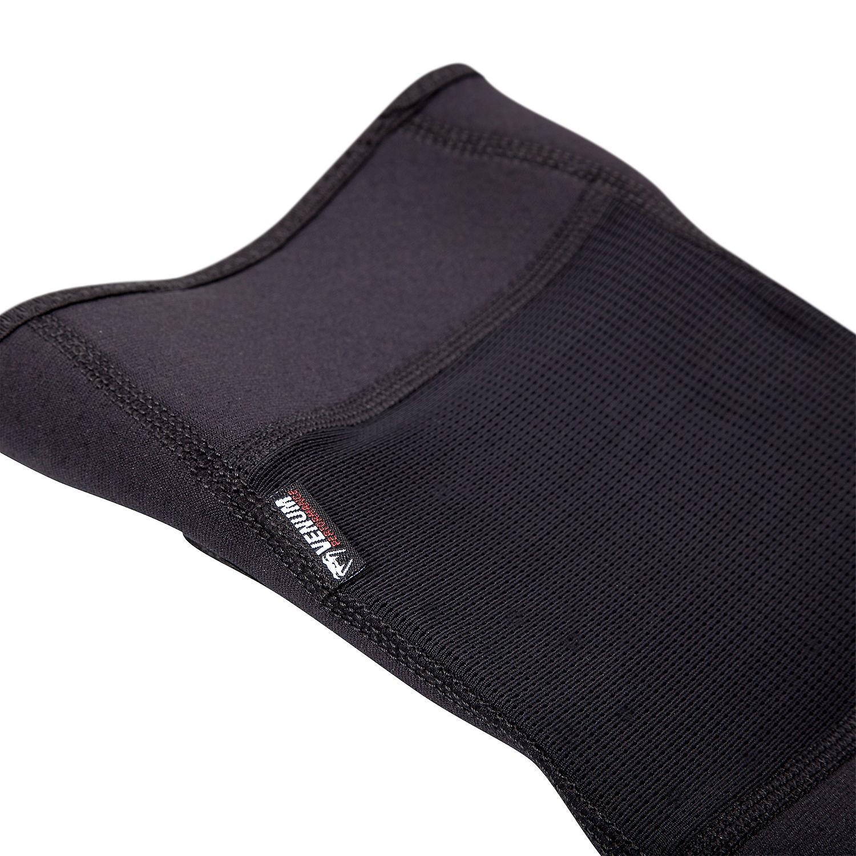 Black Venum Kontact MMA BJJ Slip On Knee Pads
