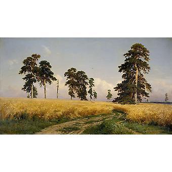 Paysage, Ivan Shishkin, 60x34cm
