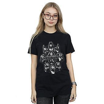Marvel Women's Avengers Endgame Hero vormen vriendje fit T-shirt