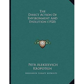 The Direct Action of Environment and Evolution (1920) by Petr Aleksee