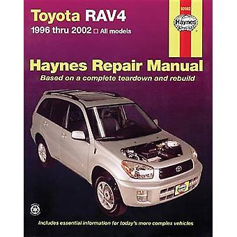 Toyota RAV4 Automotive Repair Manual - 1996-12 (2nd Revised edition) b