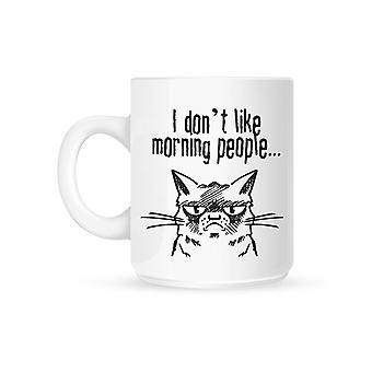 Grindstore I Don`t Like Morning People Mug