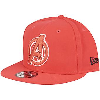 New Era 9Fifty Snapback Marvel Comics Cap - AVENGERS lava