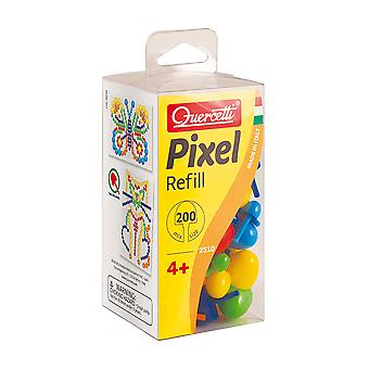 Quercetti Pixel Refill Mix (200 Pegs Mixed Size)