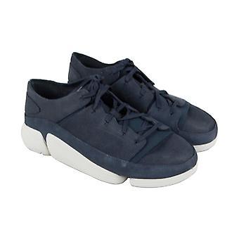 Clarks Trigenic Evo menns blå komfort casual mote joggesko sko