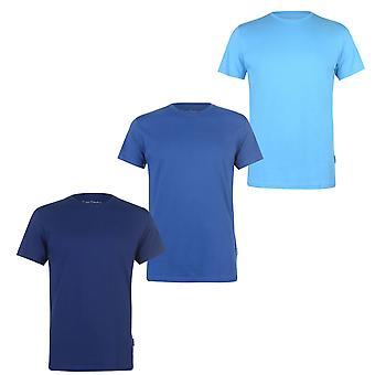 Pierre Cardin Mens 3 kpl paita T-paita T-paita tee alkuun