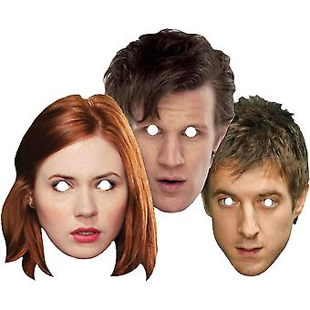 Doctor Who Companions Face Mask 3 Pk