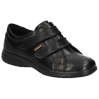 Cotswold Womens Haythrop Tough Fastening Shoe Black
