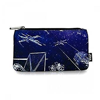 Pencil Case - Star Wars - Ship And Galaxy Stationery Pouch Bag Licensed stcb0057