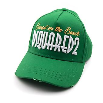 Dsquared2 Sunset On Beach Cap Green